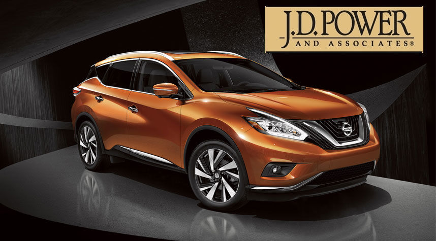 Nissan Dominates J.D. Power Rankings on Initial Quality