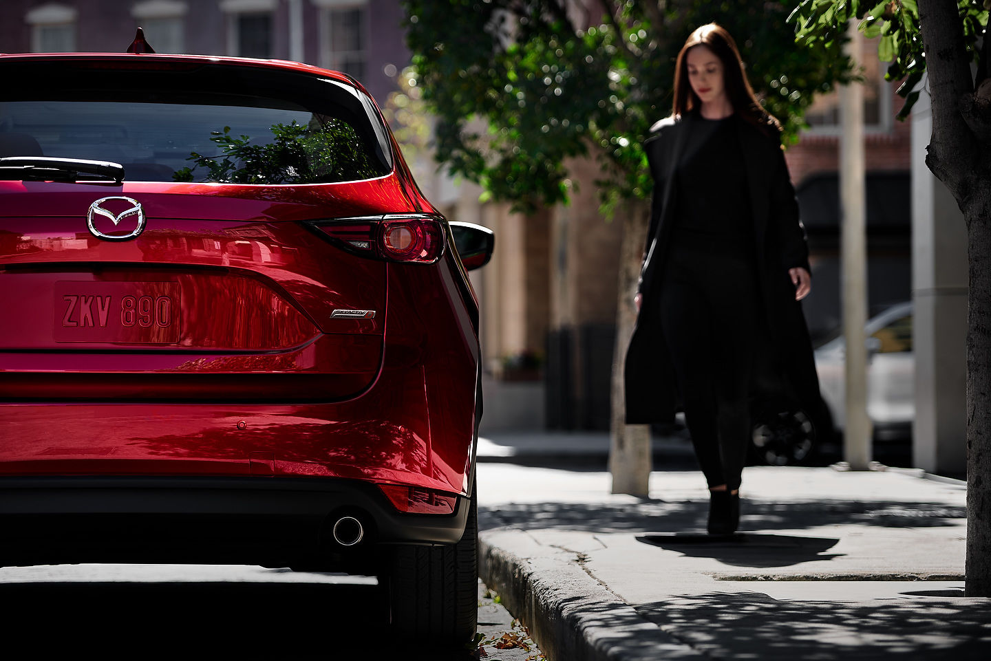 The Mazda CX-5 Diesel unveiled in New York