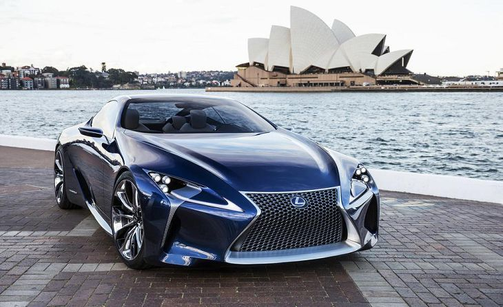2017 Lexus LC 500 - A Vision of Luxury and Style by - Lexus of ...
