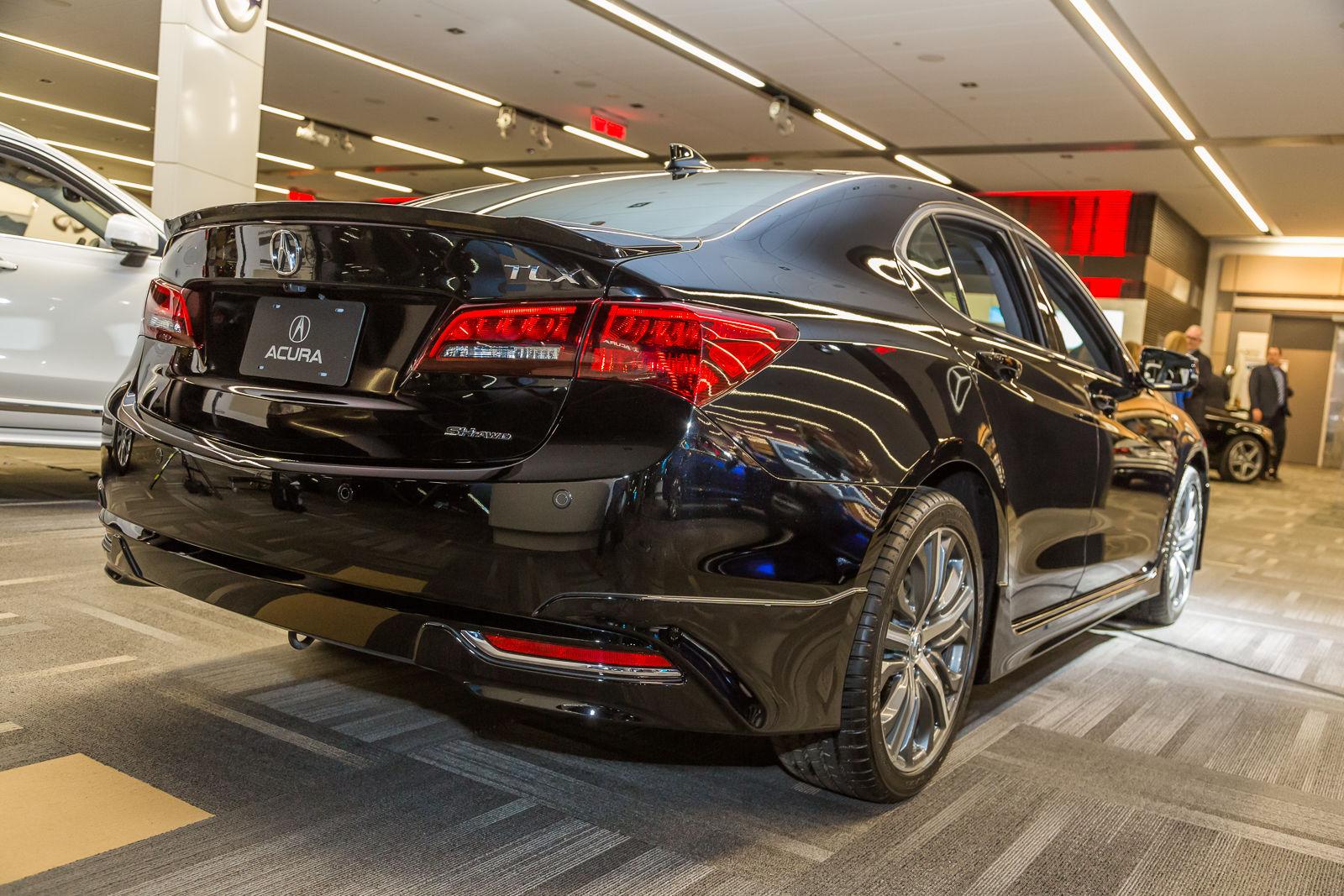 Salon De L Auto D Ottawa Acura Tlx 2016 Par Groupe