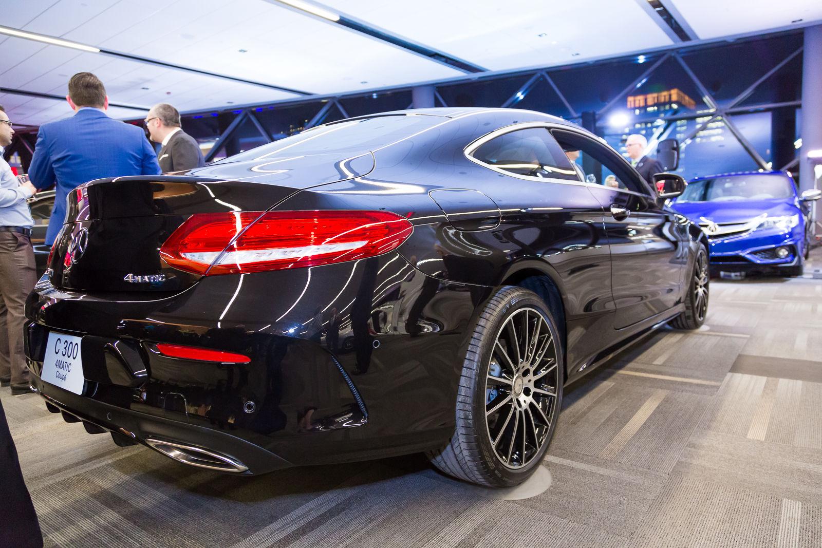 Ottawa auto show 2016 mercedes benz c class coupe for Mercedes benz c class coupe 2016