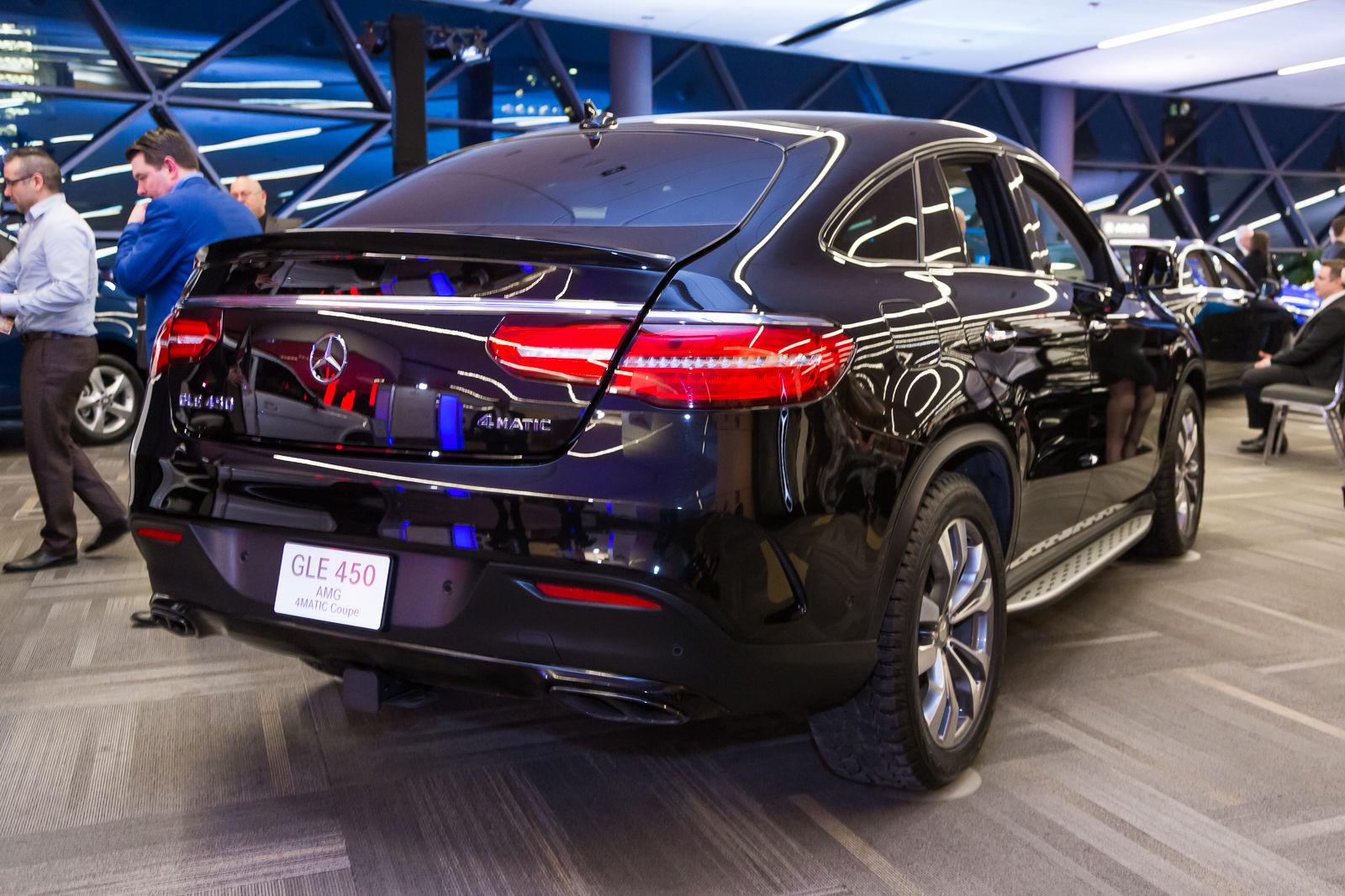 Ottawa auto show 2016 mercedes benz gle coupe ogilvie for Mercedes benz car show