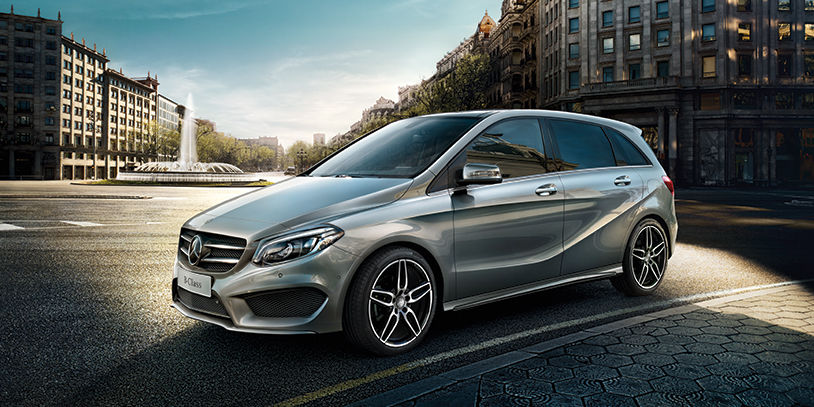 2016 mercedes benz b class a distinguished compact car by for Mercedes benz small cars