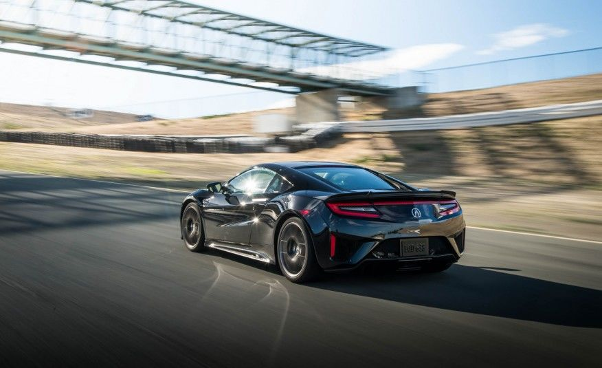First Acura Nsx Rolls Out Of Production By Mierins