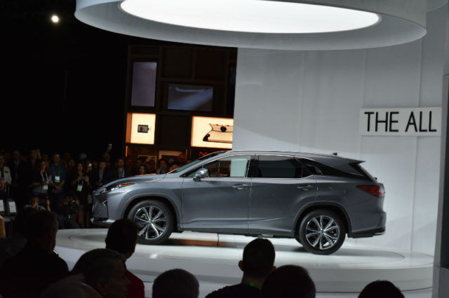 Lexus Los Angeles >> Brand New Lexus Rx L Unveiled At The Los Angeles Auto Show By