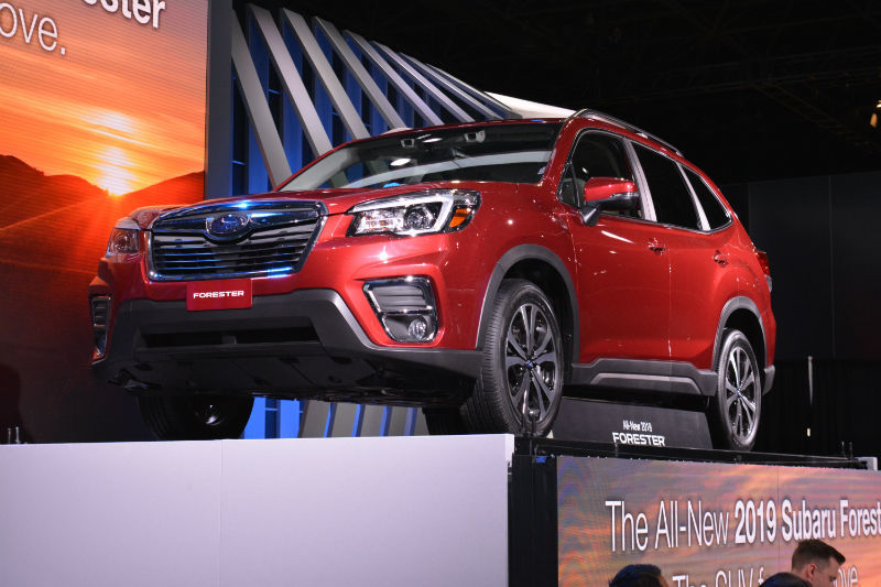 2019 Subaru Forester Unveiled In New York With New X Mode And More