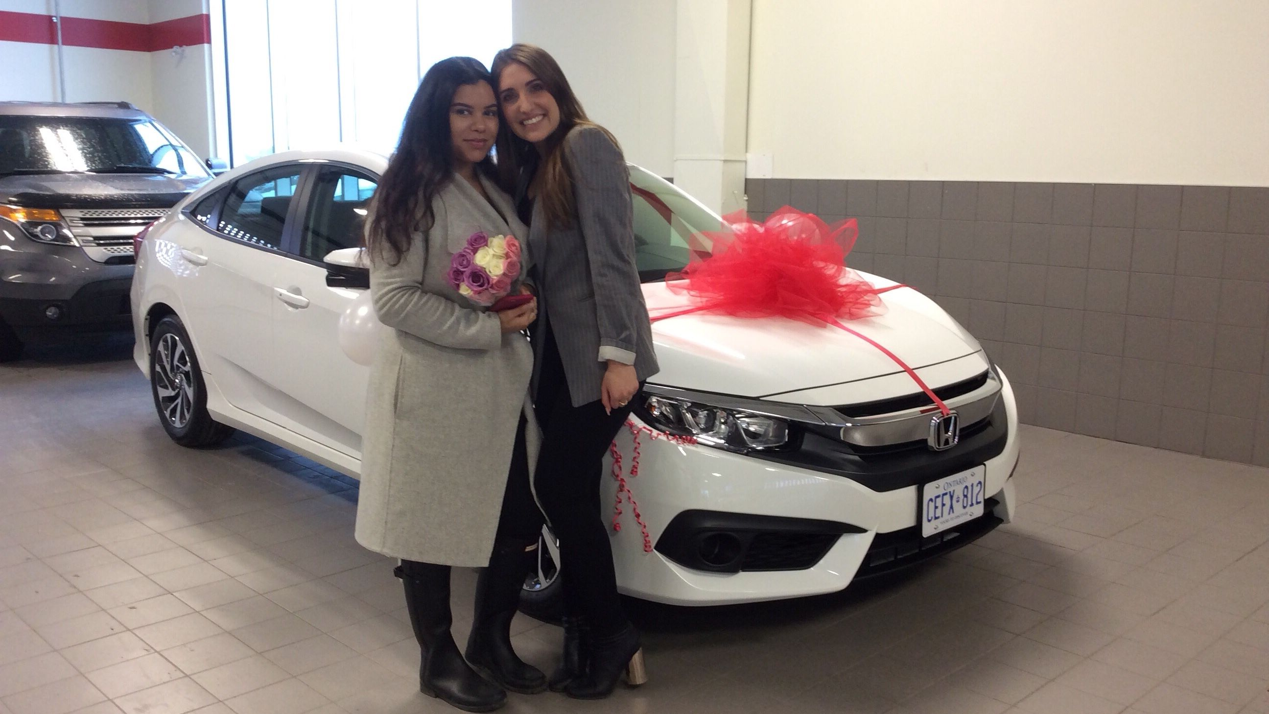 My First New Car 2018 Honda Civic By Nathania Tanguay Rosier