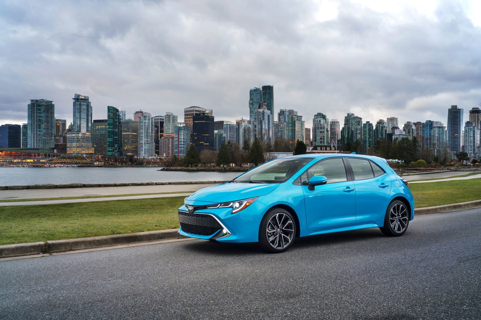 The 2019 Toyota Corolla Hatchback By Kingston Toyota In Kingston