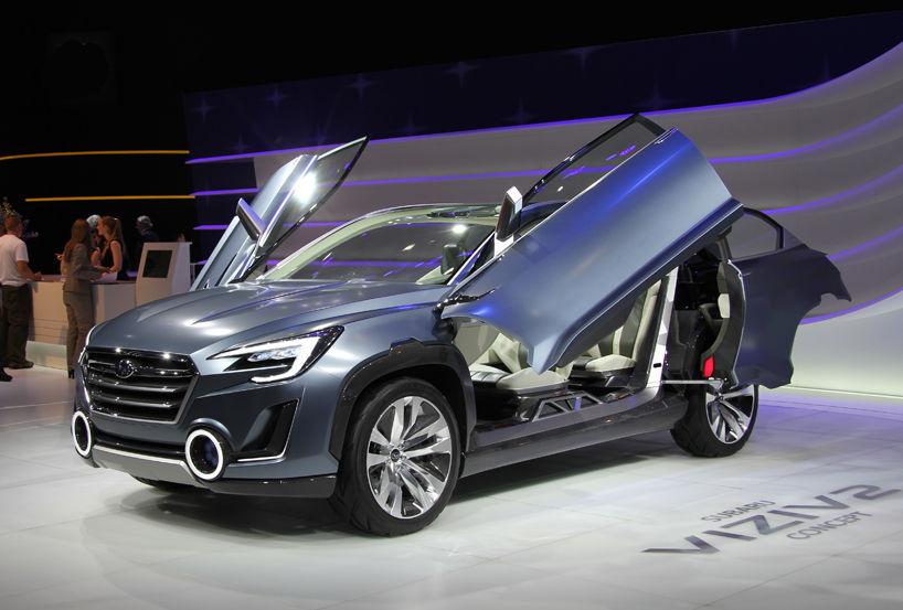 The Subaru Viziv 2 Concept Showcases The Bright Future Of Subaru By