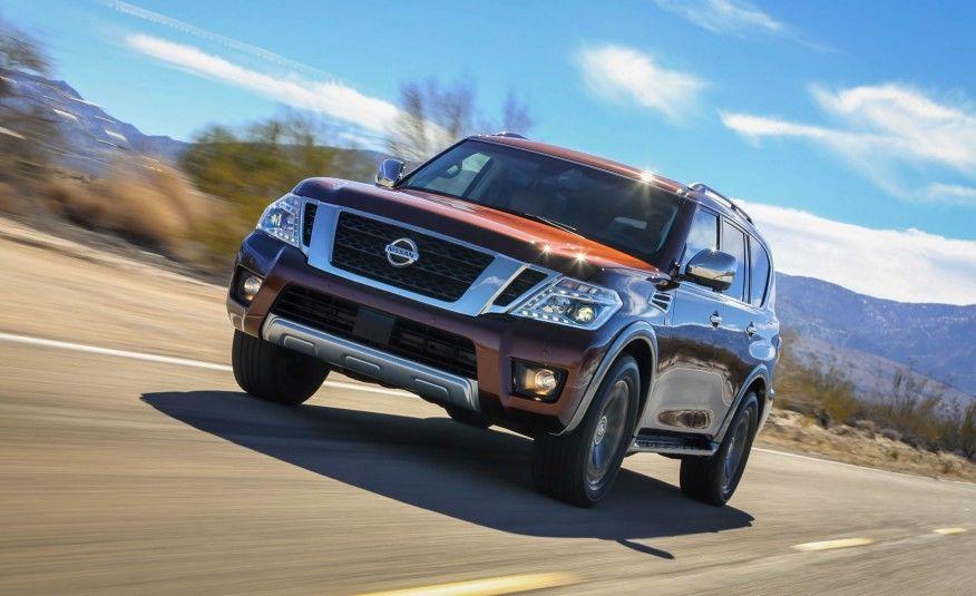 2017 Nissan Armada: Ruggedly Refined