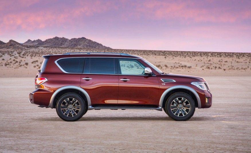 2017 Nissan Armada: Masculine Refinement