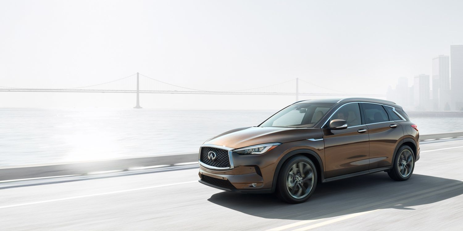 A closer look at the new 2019 Infiniti QX50