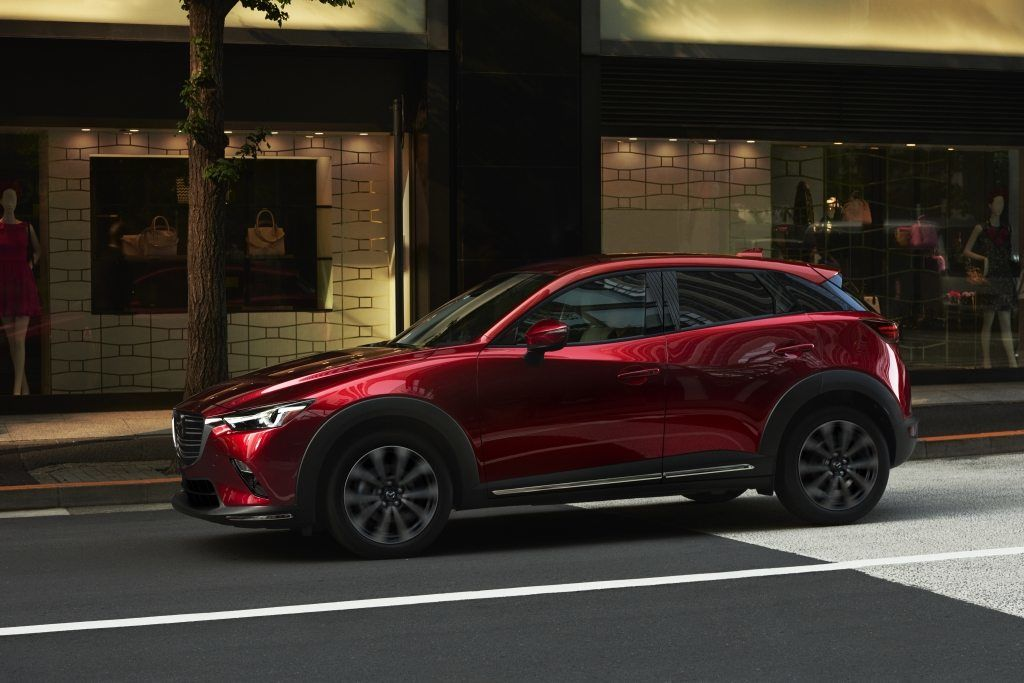 An Improved 2019 Mazda CX-3 Presented in New York