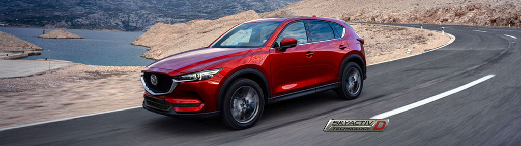 Mazda CX-5 maintenant offert avec motorisation diesel