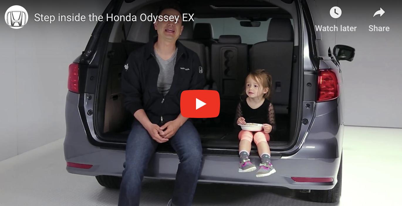 Step Inside the 2018 Honda Odyssey EX