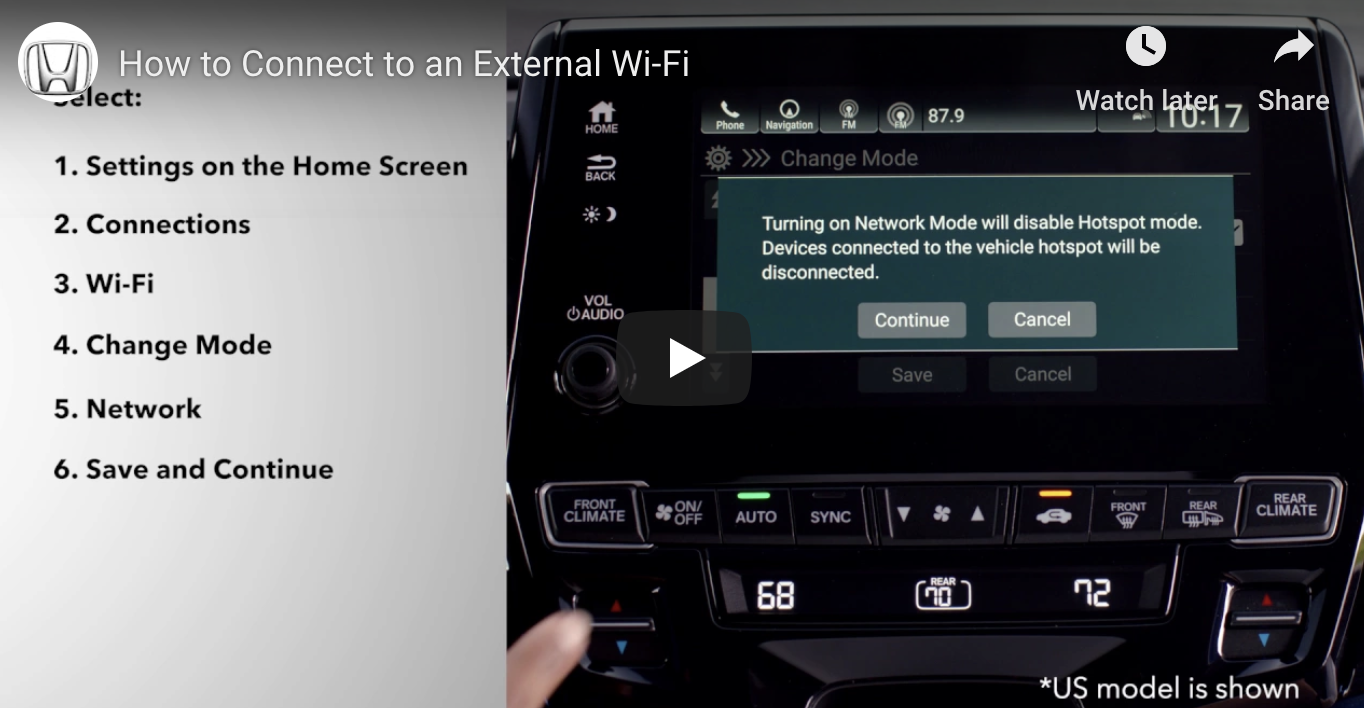 How to Connect to an External Wi-Fi