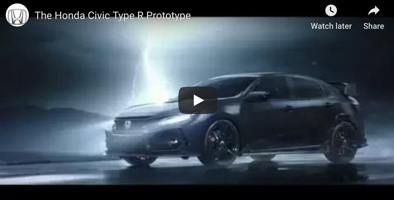 The Honda Civic Type R Prototype