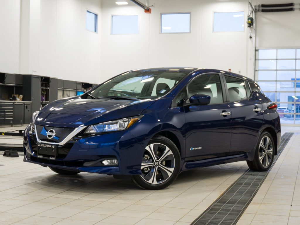 Drive Further in the 2018 Nissan Leaf