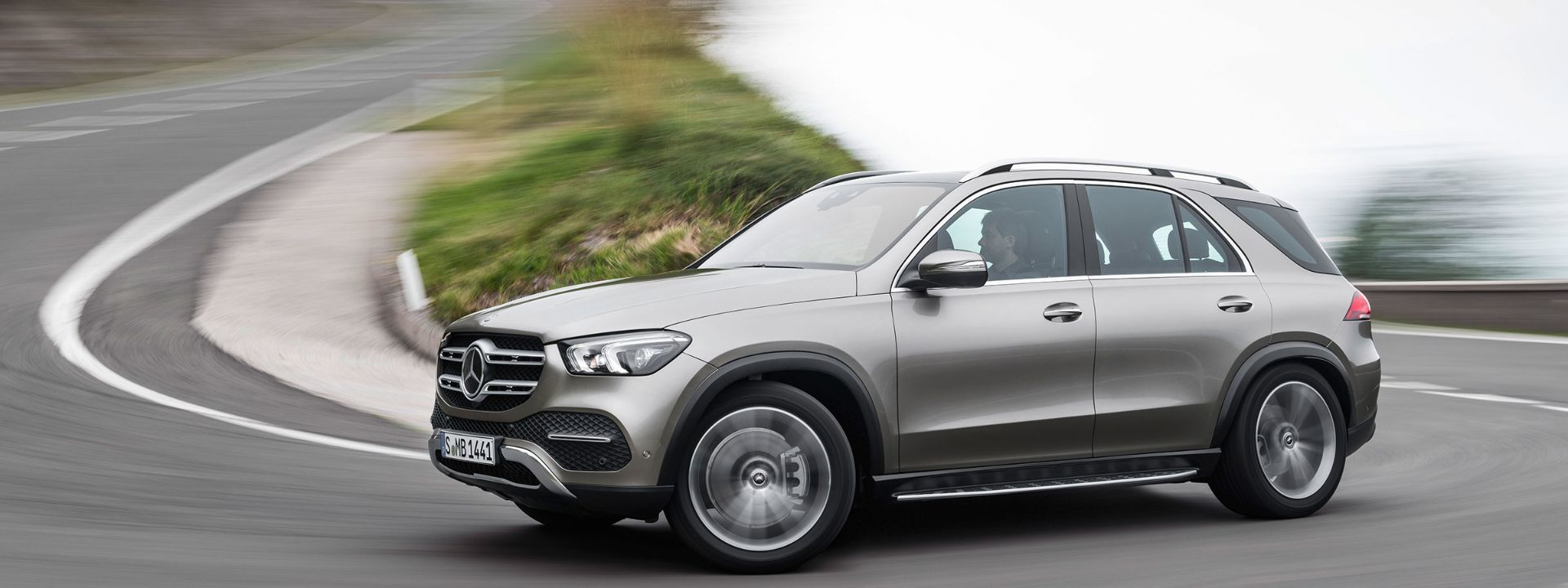 2020 Mercedes-Benz GLE.