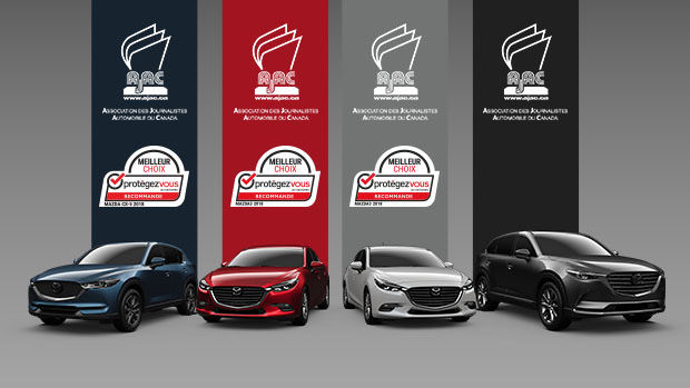 Mazda vehicles win AJAC and