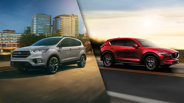 2018 Ford Escape vs 2018 Mazda CX-5 in Lachine