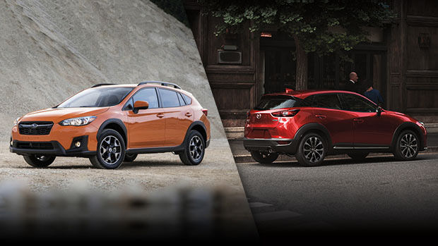 2019 Subaru Crosstrek vs. 2019 Mazda CX-3 in Lachine