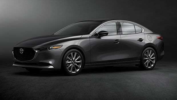 The all-new 2020 Mazda3 at Spinelli Mazda in Montreal
