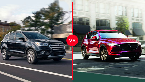 2019 Ford Escape vs 2019 Mazda CX-5 in Montreal