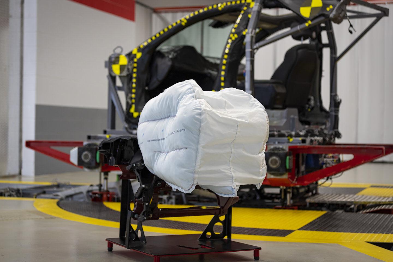 Honda has developed a new airbag