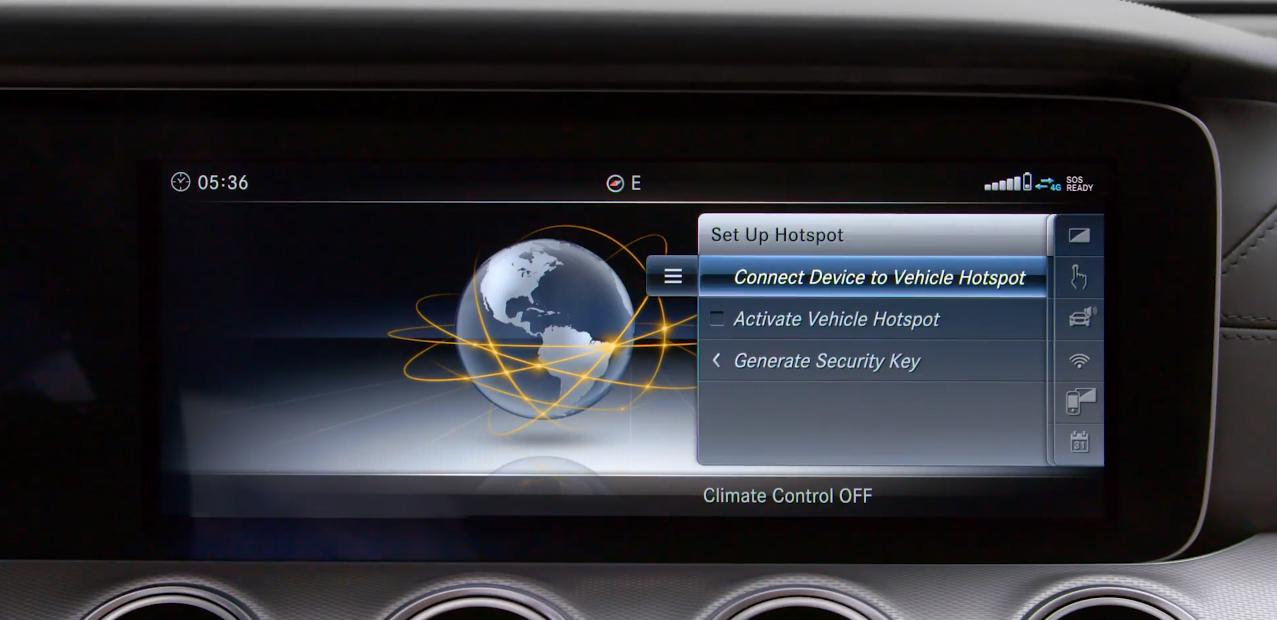How-To: Wifi Hotspot | Mercedes-Benz Canada