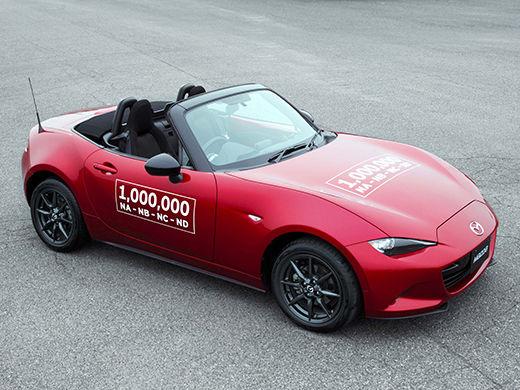 Un million de Mazda MX-5 produites!