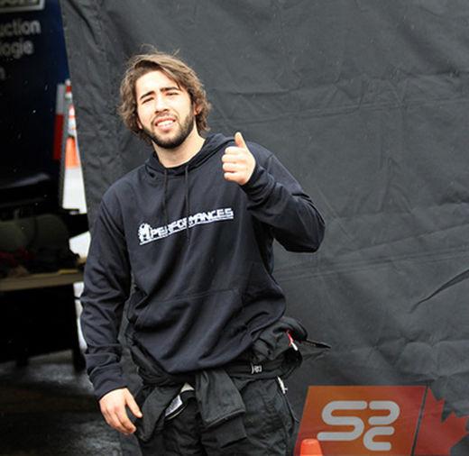 Groupe Vincent Compétition : portrait du pilote Frédéric R. Magny