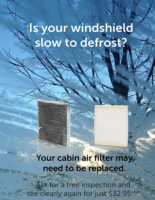 Why Your Windshield is Slow to Defrost in the Winter