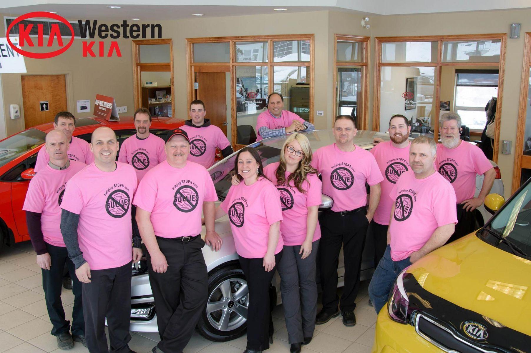 Western Kia Supports Anti-Bullying