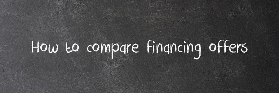 Am I Really Getting A Deal? How To Compare Financing Offers
