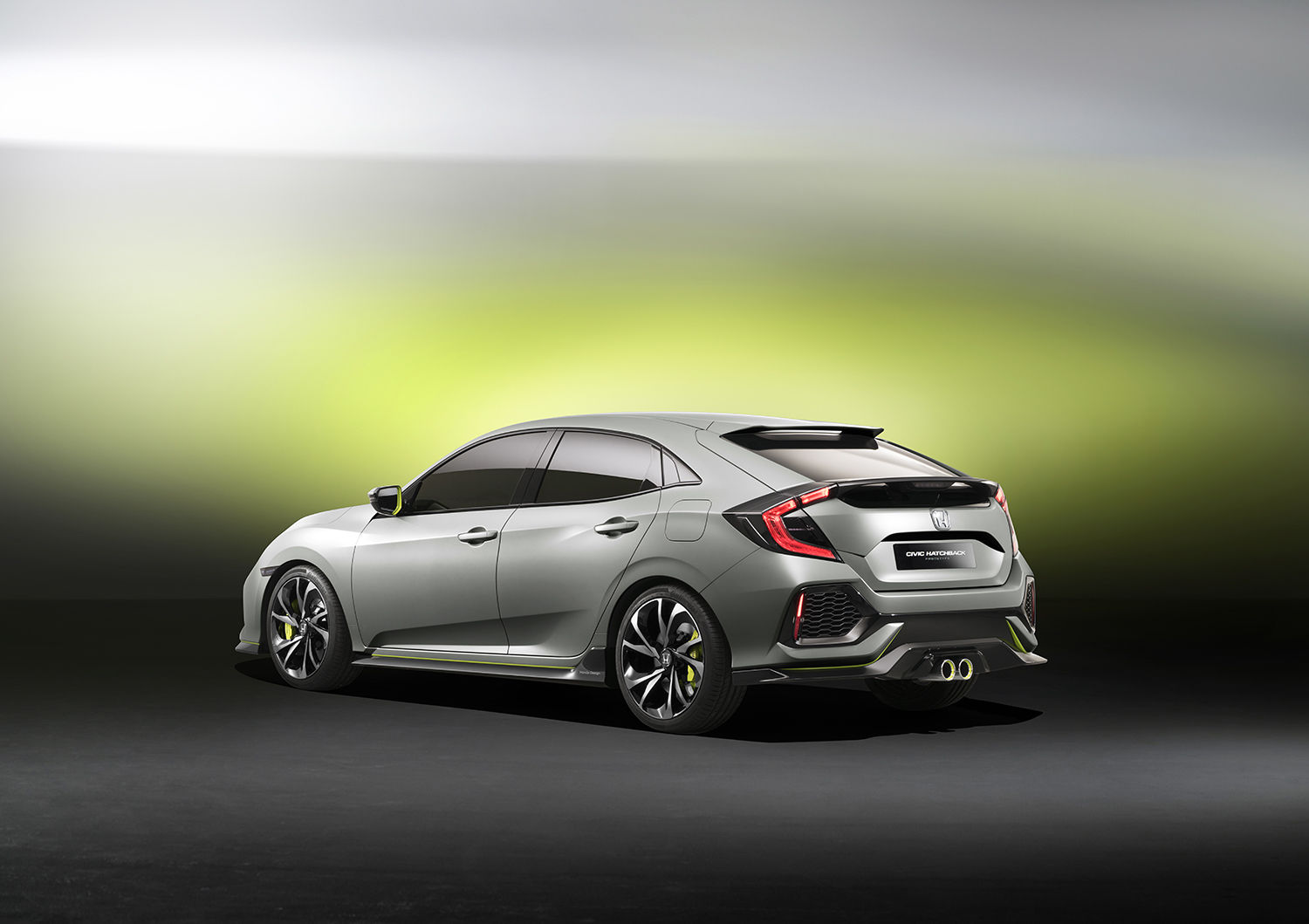 Honda Civic Hatchback Prototype to Make North American Debut in NY