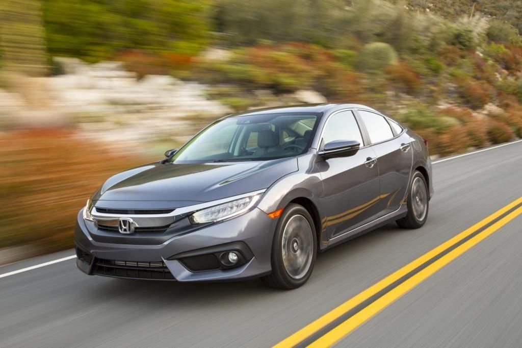 2016 Honda Civic Awarded Best Small Car by AJAC