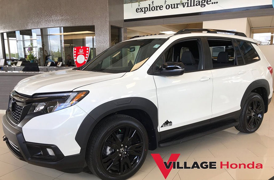 Introducing the all-new 2019 Honda Passport Sport Adventure Edition