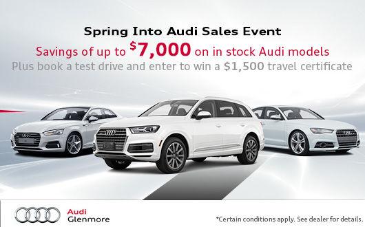 New Audi Vehicles Glenmore Audi In Calgary Alberta - Audi vehicles models