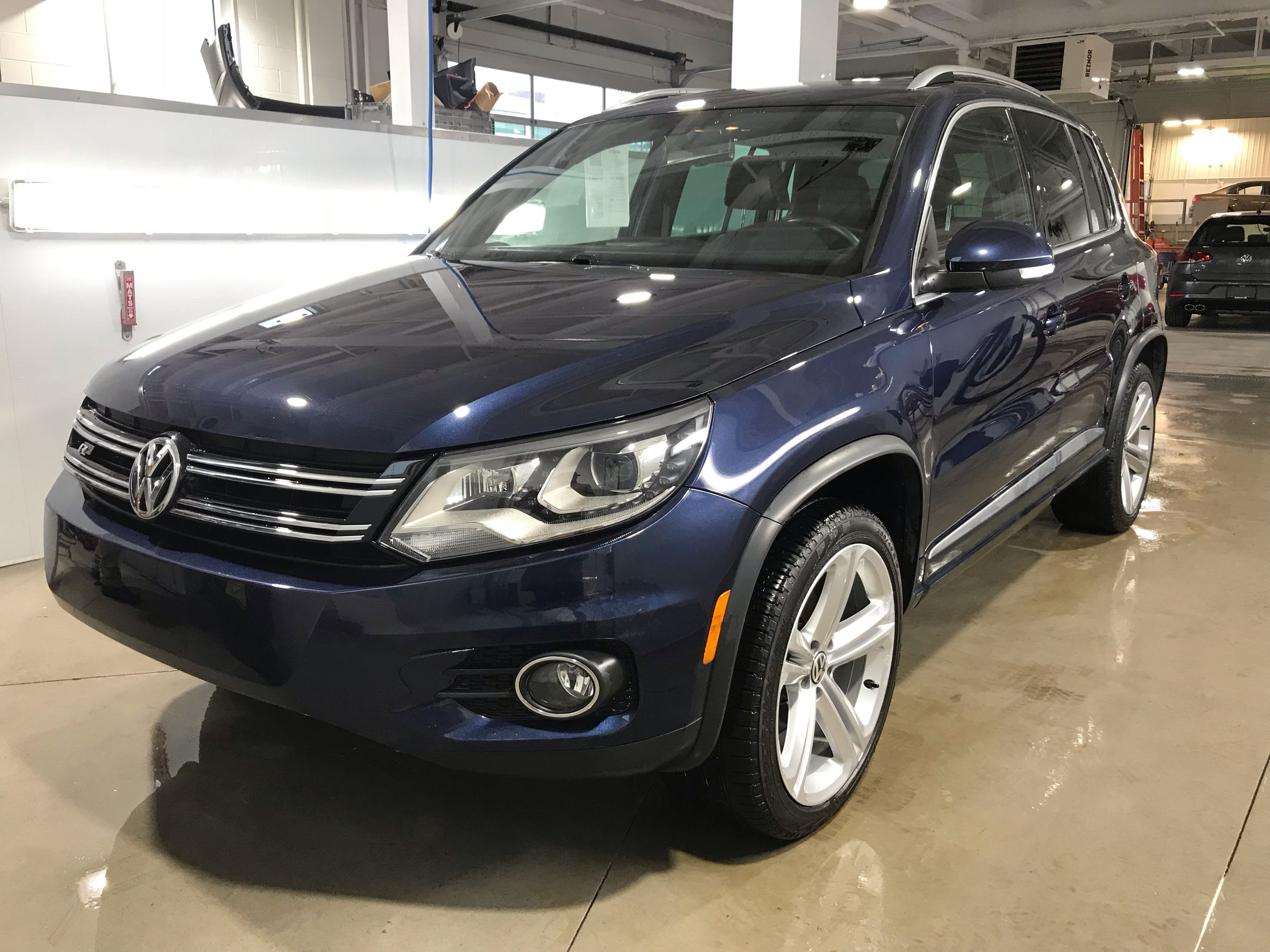 Sale Volkswagen R Awd For Line Automatique Used 2015 Tiguan Highline CxBoerdW