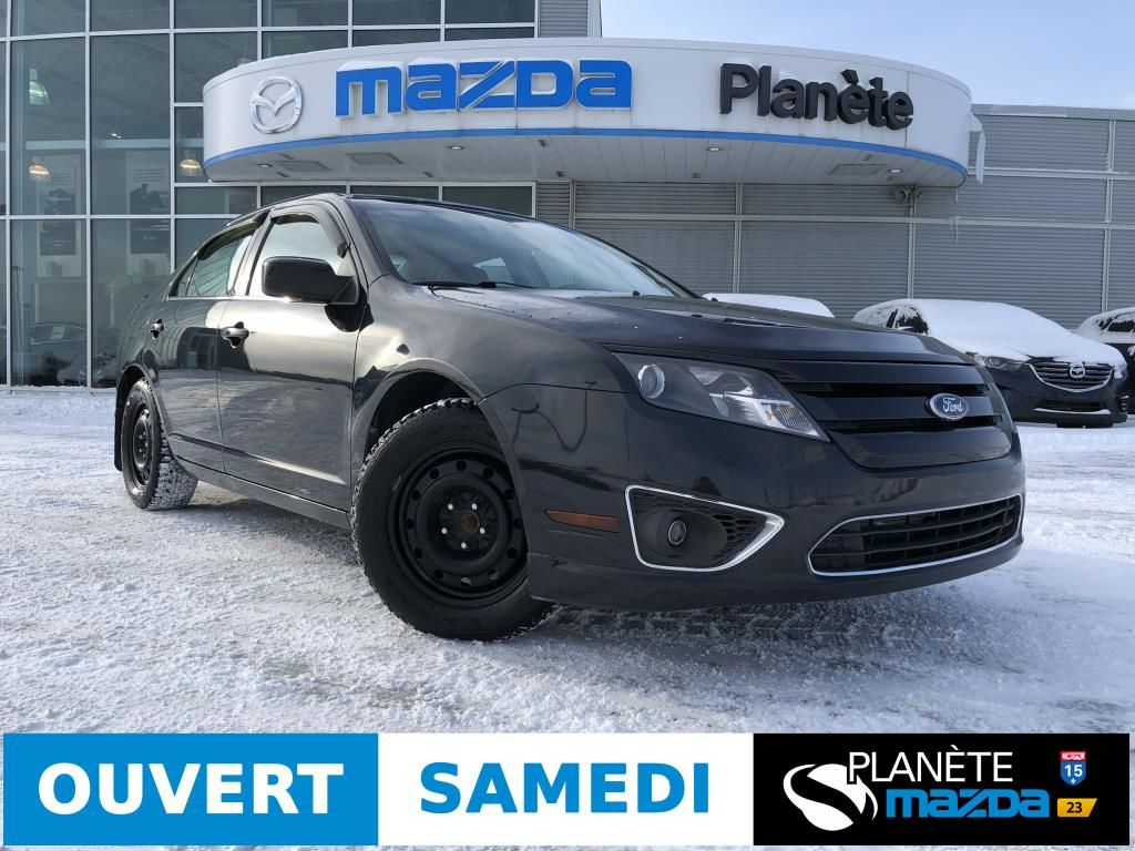 Planete Mazda Pre Owned 2011 Ford Fusion In Mirabel