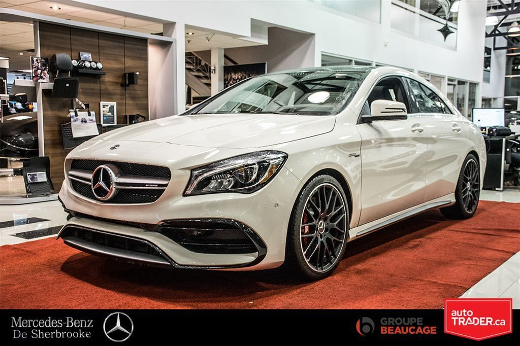 Mercedes-Benz de Sherbrooke | New 2018 Mercedes-Benz CLA45