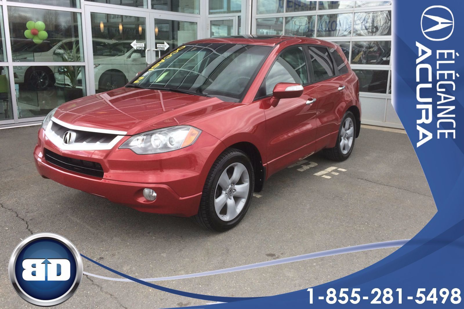 used 2007 acura rdx sh awd cuir toit in granby used inventory l gance acura in granby quebec. Black Bedroom Furniture Sets. Home Design Ideas