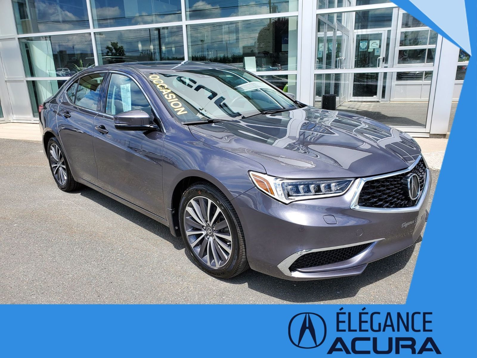 Elegance Acura Pre Owned 2018 Acura Tlx Tech Sh Awd For Sale In Granby