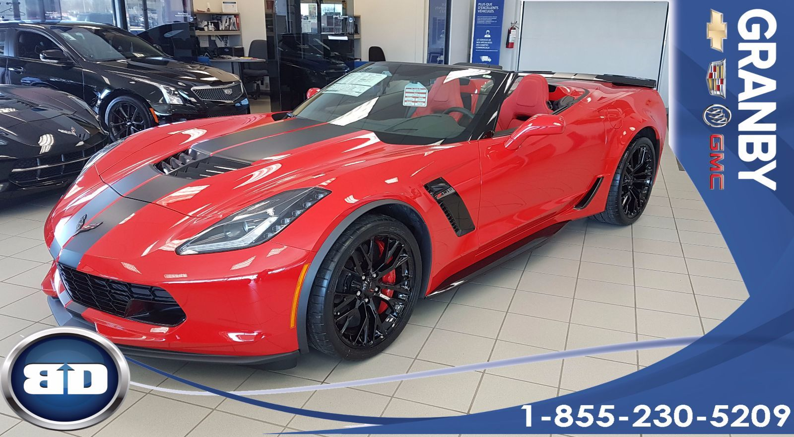 2017 chevrolet corvette z06 1lz convertible 650 hp d 39 occasion granby inventaire d 39 occasion. Black Bedroom Furniture Sets. Home Design Ideas