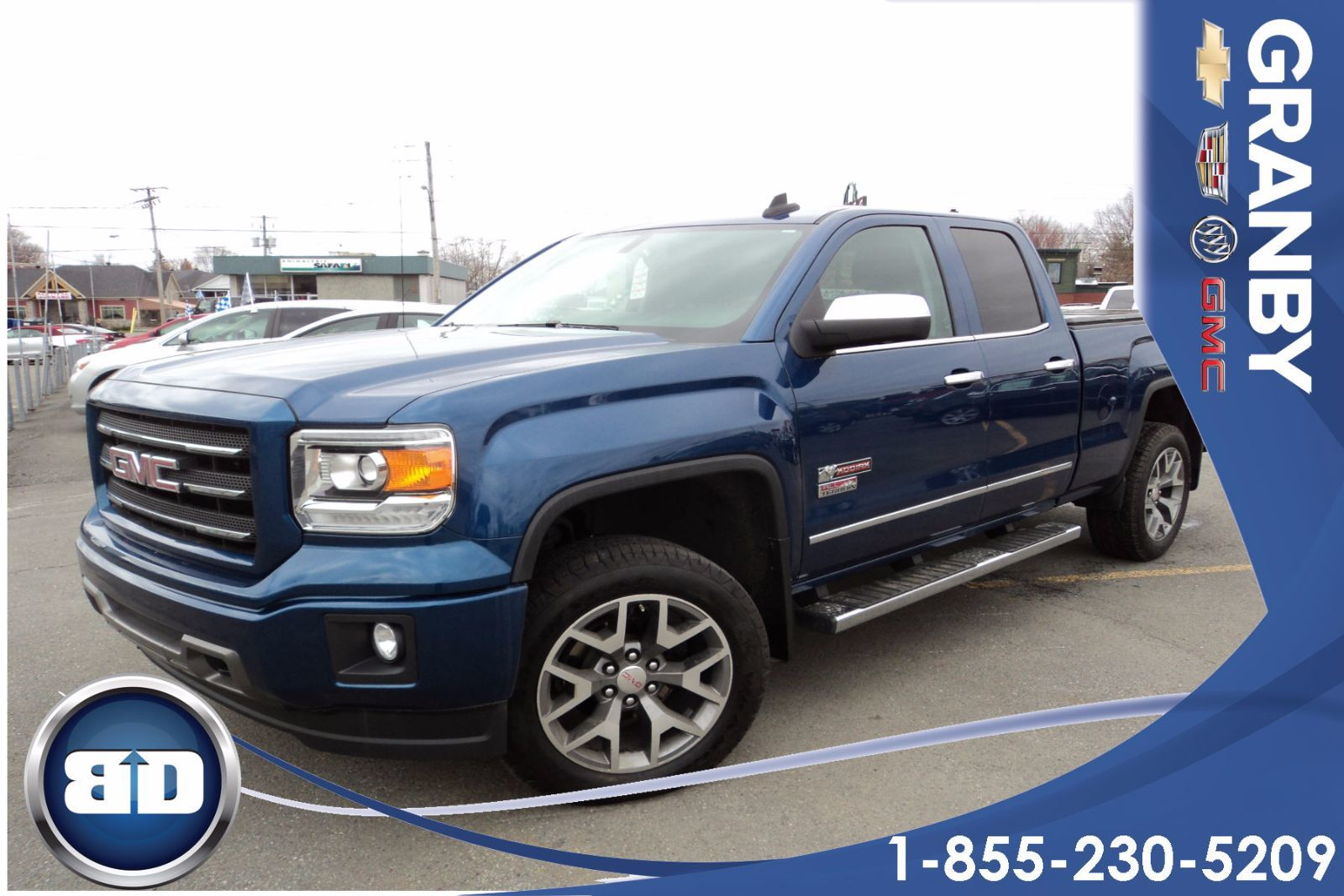 new 2015 gmc k1500 sierra double cab sle std box 3sa all terrain double cab for sale in granby. Black Bedroom Furniture Sets. Home Design Ideas