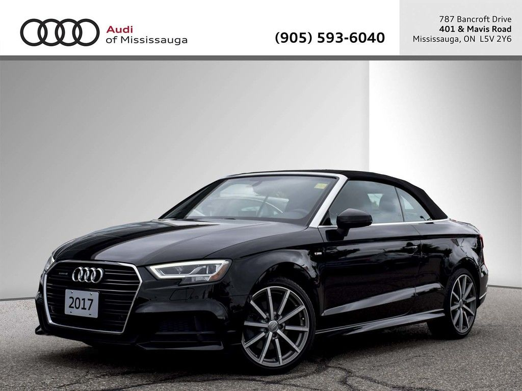 Pre Owned 2017 Audi A3 2 0t Technik Quattro 6sp S Tronic Cab In Mississauga A21911
