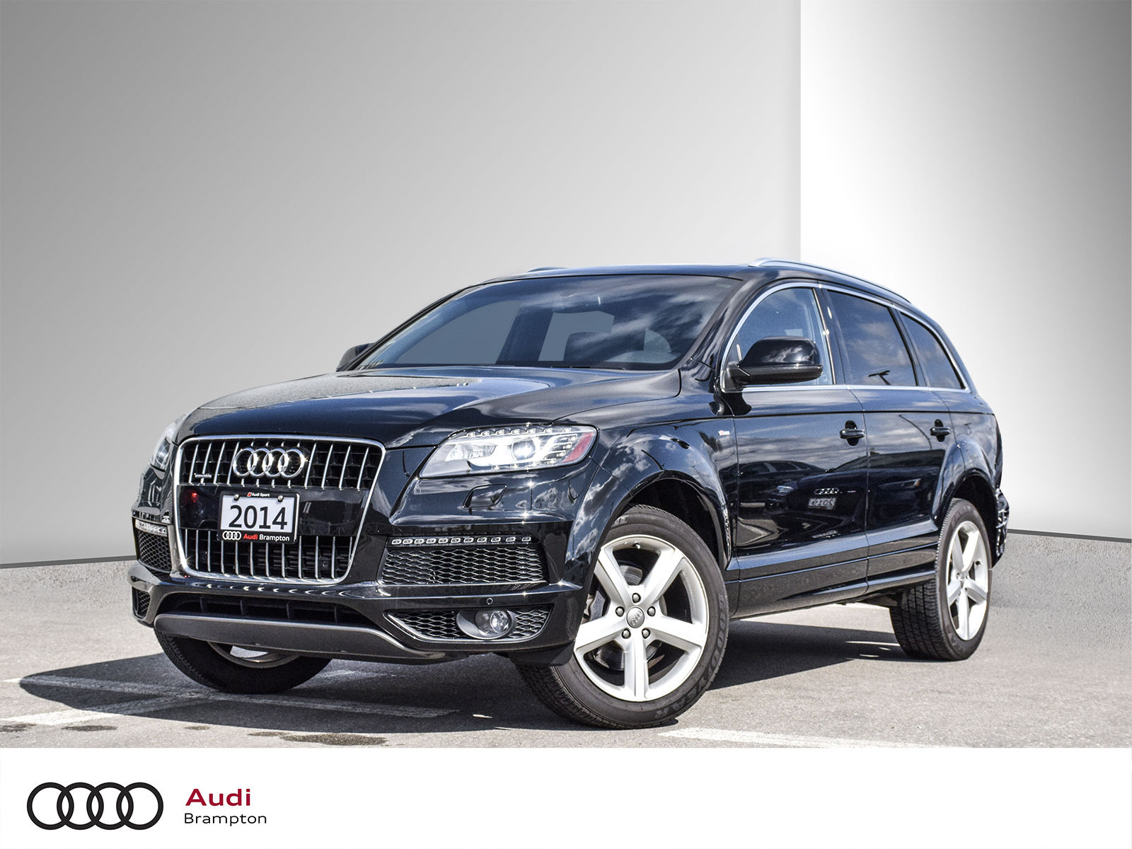 Pre Owned 2014 Audi Q7 3 0t Sport In Mississauga B20399t1