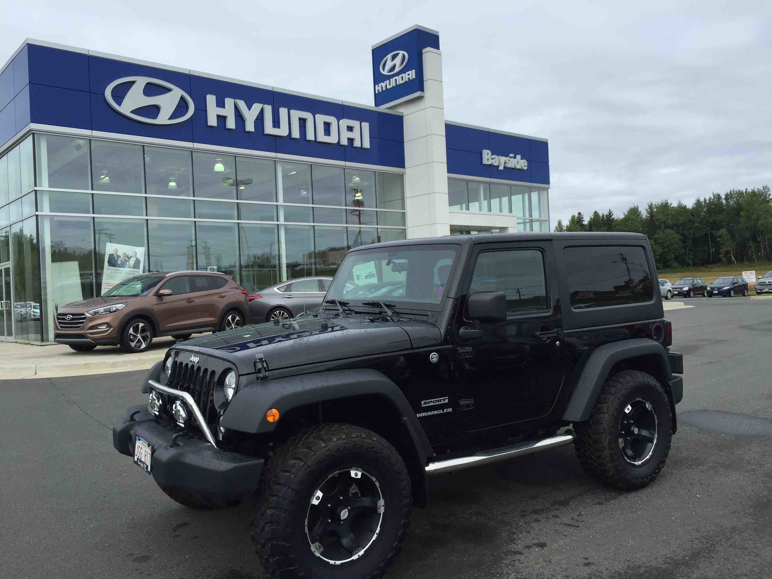 Used 2014 jeep wrangler sport to sale for 23 in bathurst used used 2014 jeep wrangler sport to sale for 23 in bathurst used inventory bayside hyundai in bathurst new brunswick sciox Gallery