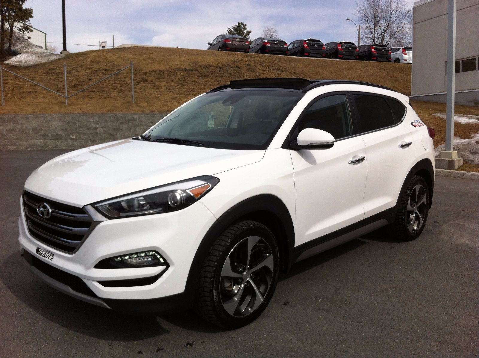 used 2017 hyundai tucson limited ultimate 1 6t awd in. Black Bedroom Furniture Sets. Home Design Ideas